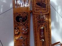 Наборы для рыбалки, охоты.Колчан с мангалом+6 шамп — Охота и рыбалка в Геленджике