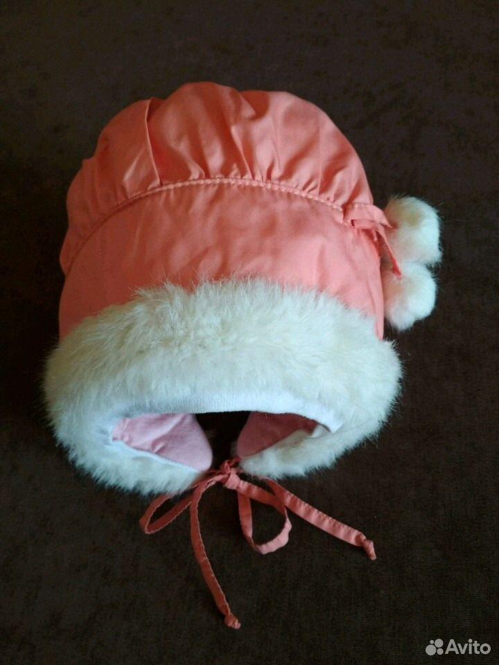Зимняя шапочка для малышки  89831965010 купить 1