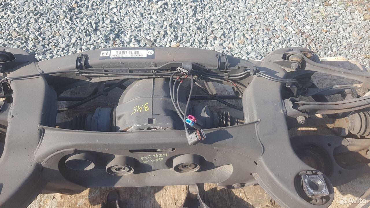 Подрамник задний в сборе Mercedes W209  89143292009 купить 9