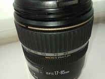 Объектив Canon EF-S 17-85mm IS USM