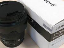 Sigma AF 17-70mm f/2.8-4 DC Macro OS HSM Canon