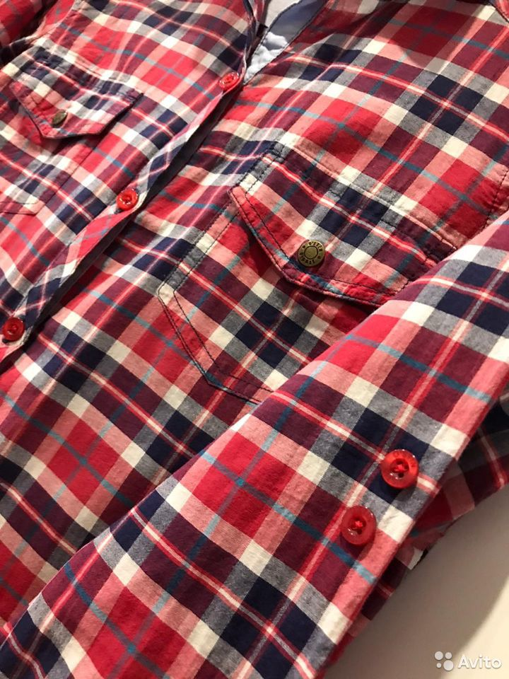 Рубашка в клетку  89616621571 купить 5
