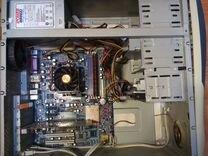 Системный блок 1.8Ггц, 80 гб hdd, 2 гб ddr, 256 mb — Настольные компьютеры в Геленджике