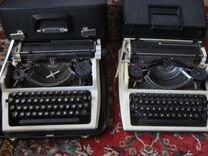 2 печатные машинки Роботрон Любава