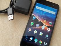 Zte a520 (2 sim 4g 4core IPS 2gb 16 gb) синий