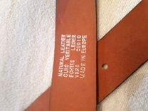 Мужской ремень 130 см,кожа