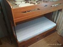 Атлантида двухъярусная кровать