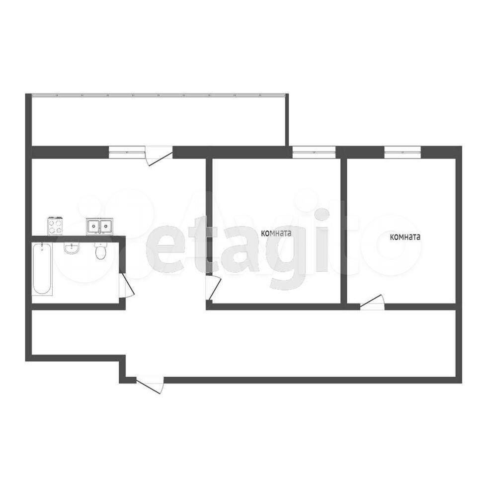 2-к квартира, 56 м², 9/16 эт.  89882912334 купить 7