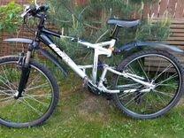 Велосипед MBK двухподвес