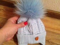 Зимние шапочки для двойни от 0 до 2 л